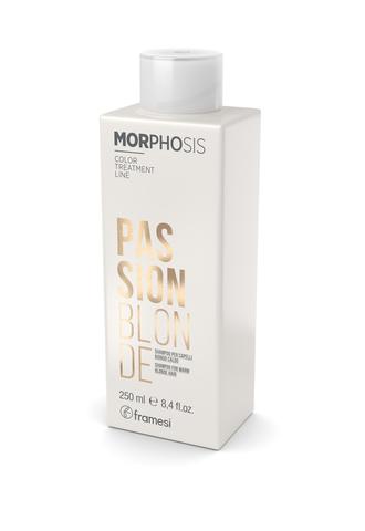 Шампунь для теплых оттенков светлых волос MORPHOSIS PASSION BLONDE, 250 мл