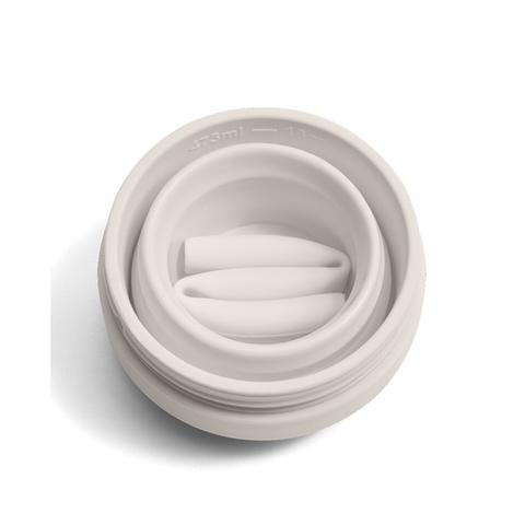 Стакан складной силиконовый Stojo Biggie Oat, 16 oz / 470 мл