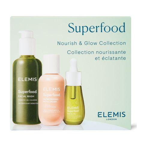 Elemis Набор Суперфуд питание и сияние кожи Superfood Nourish and Glow Kit