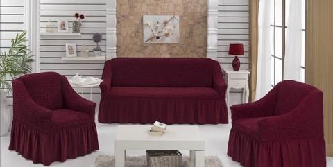 Набор чехлов на трехместный диван и два кресла Rossi