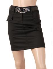5342 юбка черная