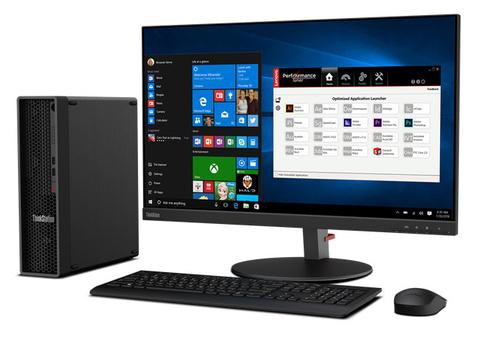 ПК Lenovo ThinkStation P340 SFF i7 10700 (2.9)/16Gb/1Tb 7.2k/SSD256Gb/P1000 4Gb/DVDRW/CR/Windows 10 Professional 64/GbitEth/310W/клавиатура/мышь/черный