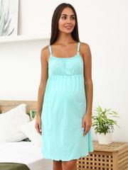 Мамаландия. Сорочка для беременных и кормящих, мятный