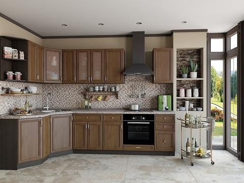 Кухня Шале-3 венге, antico