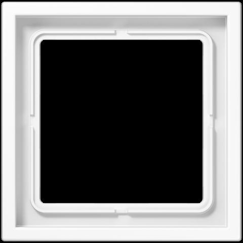 Рамка на 1 пост. Цвет Белый. JUNG LS ZERO. LSZ981BFWW