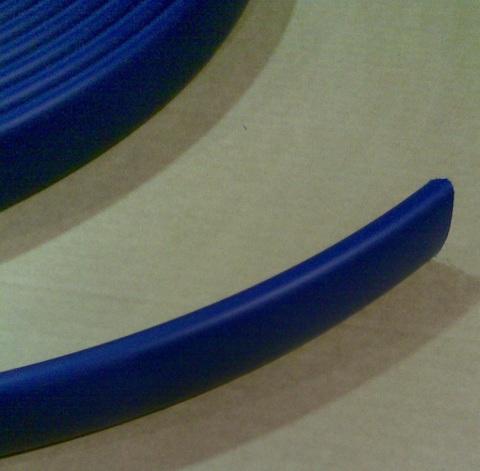 14800327 Лента пластиковая для отбортовки доильного зала голубая, ширина 40 мм
