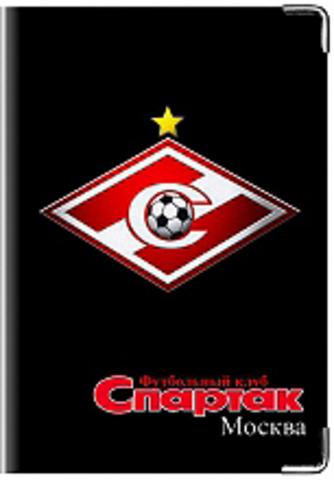 """Обложка для паспорта """"Спартак"""" (3)"""