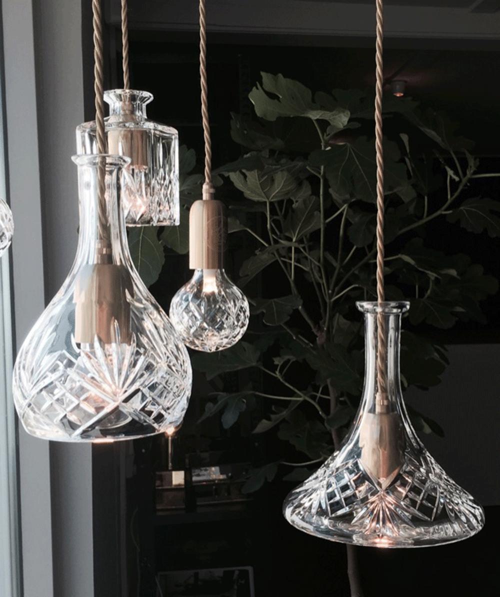 Подвесной светильник Decanterlight by Lee Broom (D)