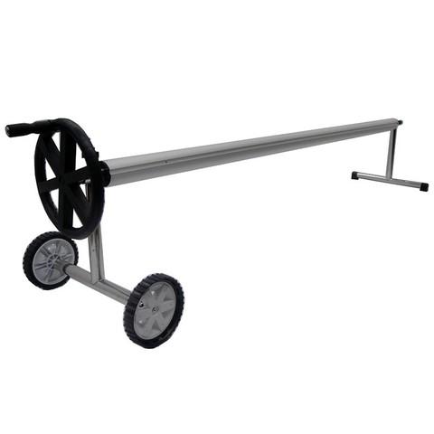Сматывающее устройство стойки нерж.сталь, телескоп. штанга 4/5,5 м POOLKING