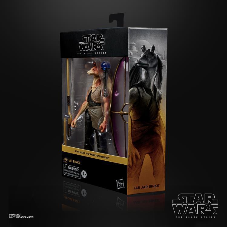 Фигурка Джа Джа Бинкс Star Wars: Black Series Звездные Войны 16 см