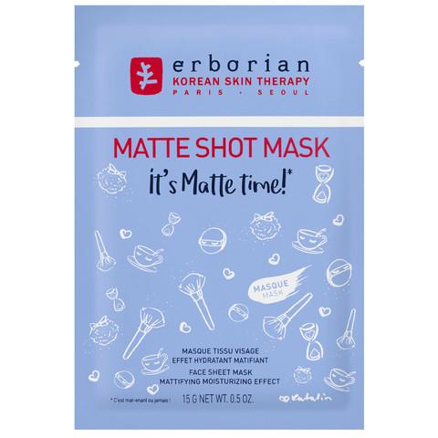 Erborian Матте тканевая маска для лица Matte Shot Mask