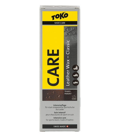 Картинка пропитка Toko Leather Wax Transparent - Beeswax 75ml  - 1