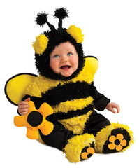InCharacter Costumes Baby - bee on a flower