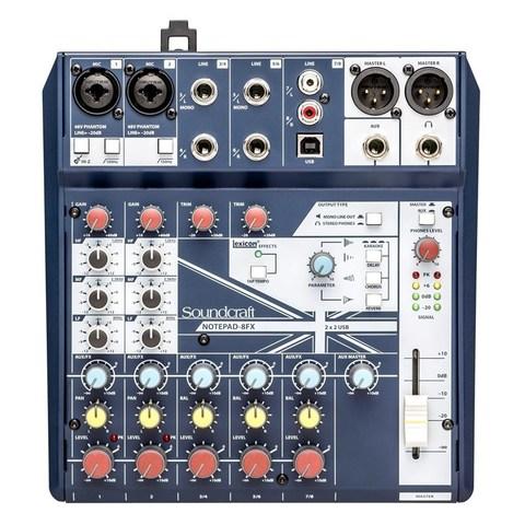 SOUNDCRAFT Notepad-8FX компактный микшерный пульт