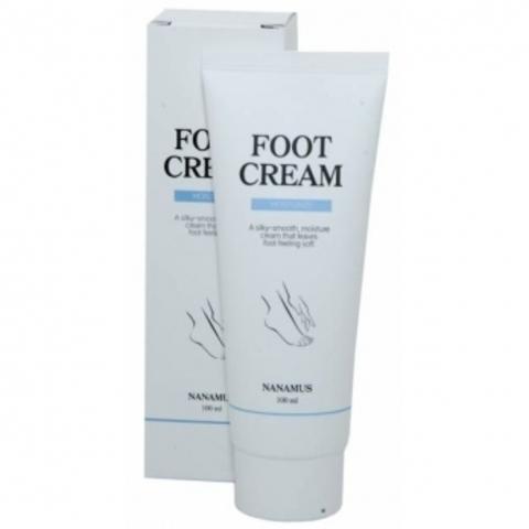 Nanamus Foot Cream смягчающий крем для грубой и потрескавшейся кожи стоп
