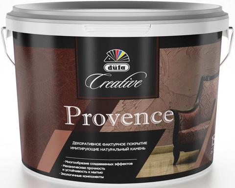 Dufa Creative Provence/Дюфа Креатив Провенсе Декоративное фактурное покрытие, имитирующее натуральный камень