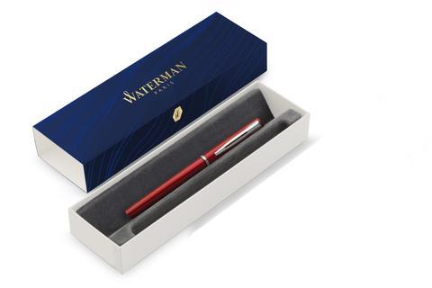 Перьевая ручка Waterman GRADUATE ALLURE, цвет: красный, перо: F123