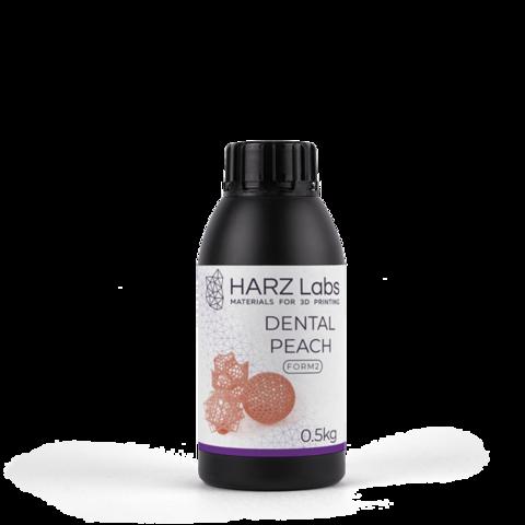Фотополимер HARZ Labs Dental Peach Form2, персиковый (500 мл)