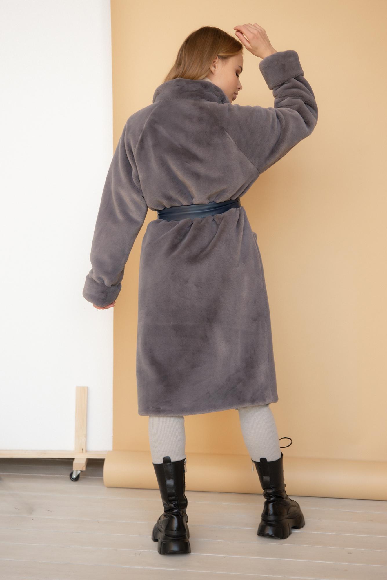 Шуба-кимоно в цвете Британская кошечка