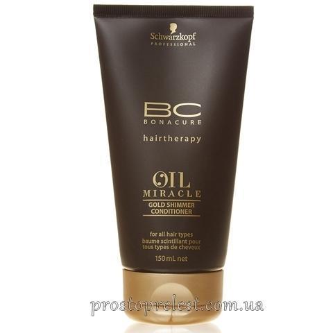 Schwarzkopf Bonacure Oil Miracle Gold Shimmer Conditioner - Кондиционер золотое сияние