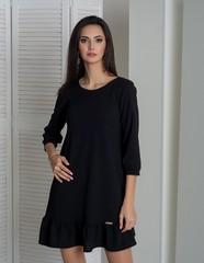 Ірма. Красива сукня вільного крою. Чорний