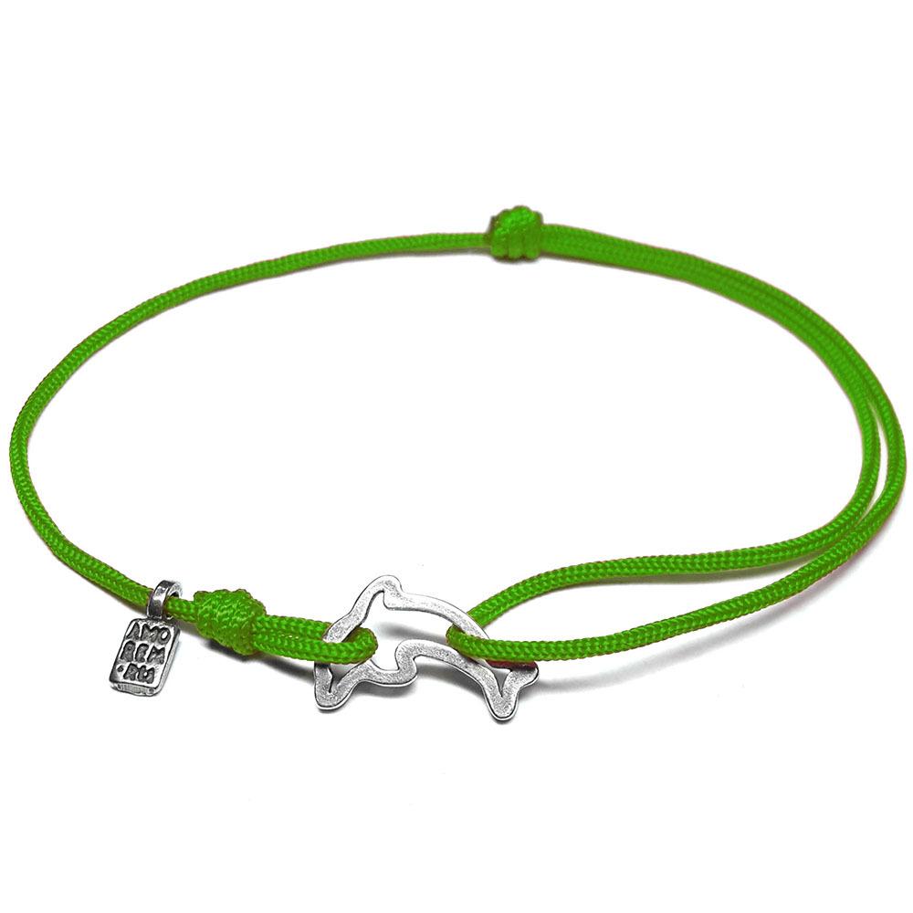 Dolphin Bracelet, sterling silver
