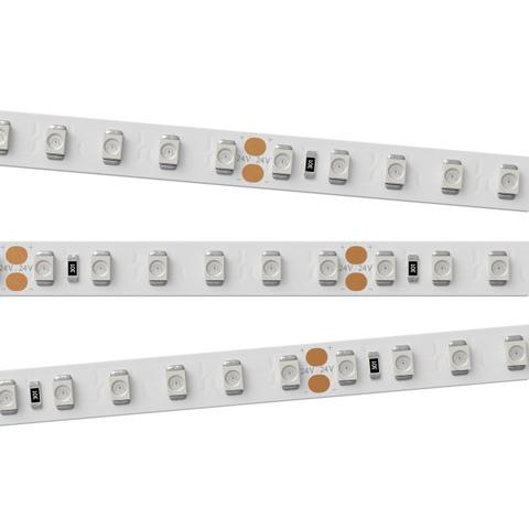 Светодиодная лента RT 2-5000 24V Orange 2x (3528, 600 LED, LUX) (ARL, 9.6 Вт/м, IP20)
