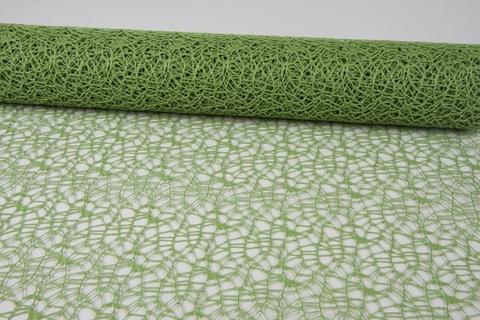 Сетка Ажурная (размер:50 см х 5 ярд) Цвет:зеленый
