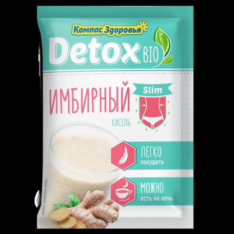 Компас здоровья кисель detox bio slim имбирный 25 г