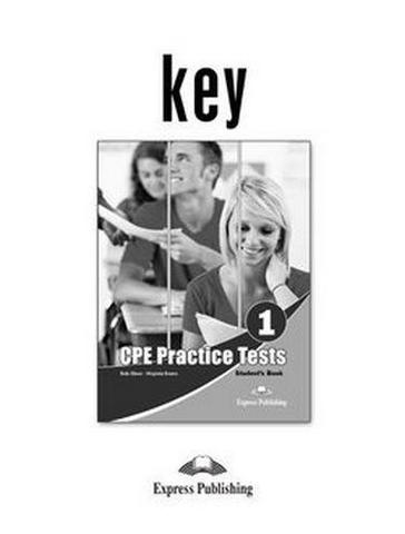 CPE practice tests 1 REVISED key - ответы к пособию