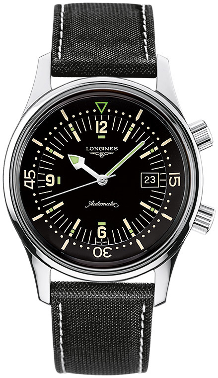 The Longines Heritage Legend Diver Watch