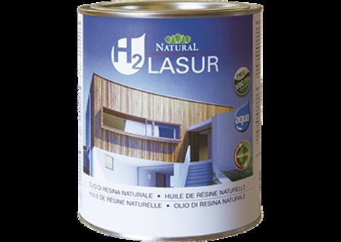 NATURAL H2 LASUR AQUA/НАТУРАЛ АШ2 ЛАЗУРЬ АКВА  масло-лазурь для дерева
