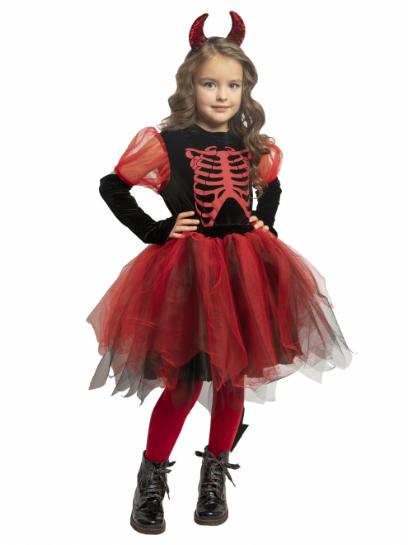 Карнавальный костюм детский Чертовка