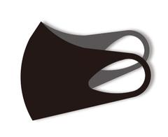 ASKIN MASK BLACK, маска-респиратор размер L- 1 шт в упаковке (черная)