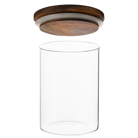 Контейнер для хранения стеклянный 0,65 л