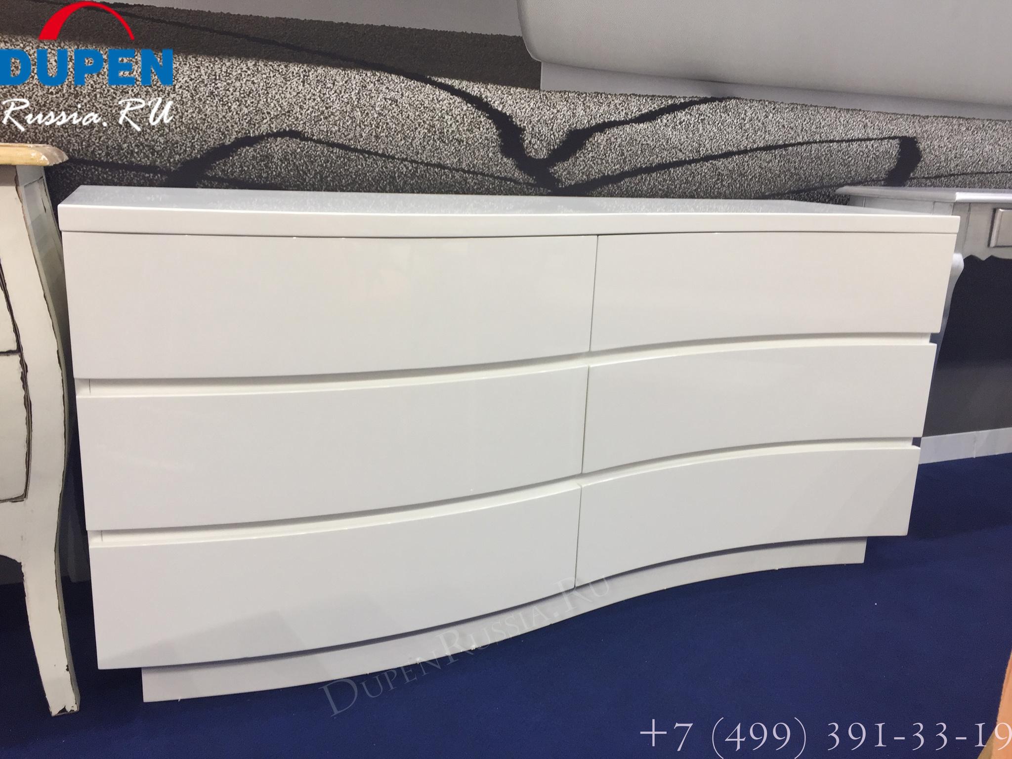 Комод горизонтальный ESF DR306 белый