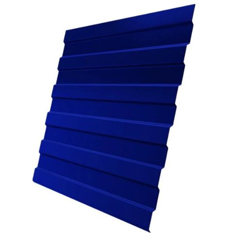 Профнастил НС10х1190 мм RAL 5002 Синий ультра двухсторонний