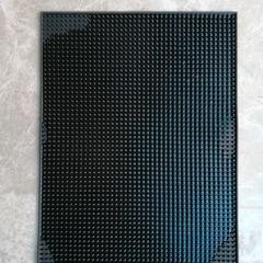 Дезковрик для дезинфекции обуви LUX резиновый, 8 мм высотой