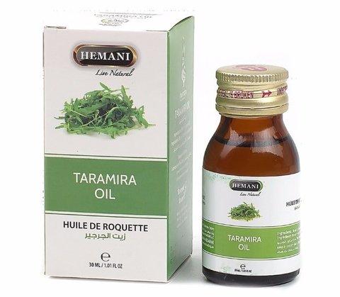 Масло Усьмы (Taramira oil) - стимулятор роста волос, 30 мл, Hemani (Индия)