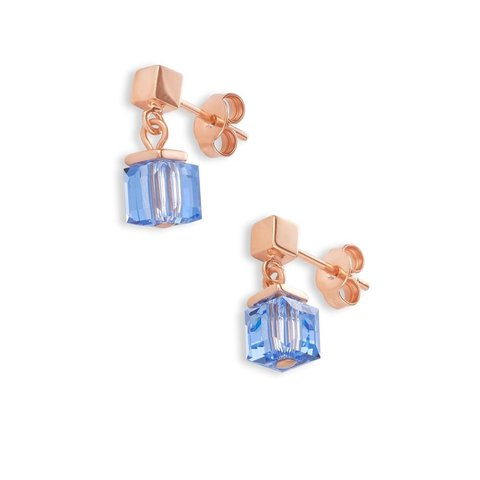 Серьги Blue 4996/21-0700 цвет золотой, голубой