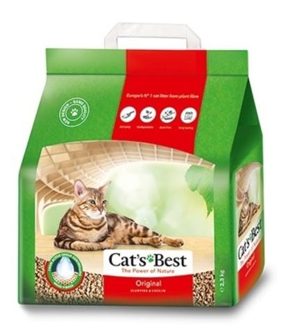 Cat`s Best Original древесный наполнитель для кошачьих туалетов 10 л/4,3кг