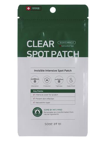 Патчи для проблемной кожи CLEAR SPOT PATCH 18pcs (10mm*9ea + 12mm*9ea)