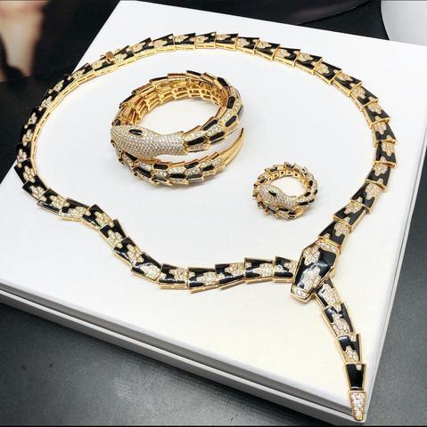Колье браслет и кольцо Bvlgari Luxury