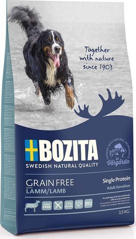 Bozita Grain Free Lamb 23/12 Сухой корм для взрослых собак с нормальным уровнем активности с ягненком (беззерновой)