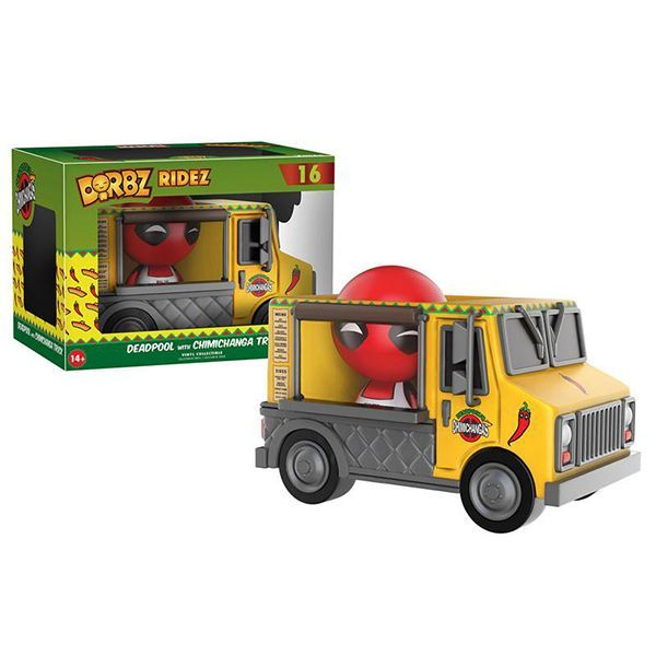 Фигурка Funko Dorbz Ridez: Marvel: Deadpool & Chimichanga Truck 11304