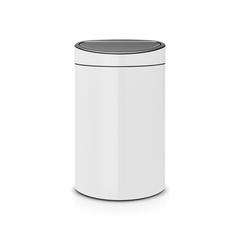 Мусорный бак Touch Bin New (40 л), Белый
