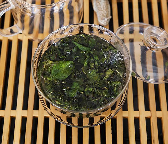 TEA-CH113 Китайский светлый улун «Те Гуань Инь» Сяо Цин (сорт «А», 50 гр) фото 06