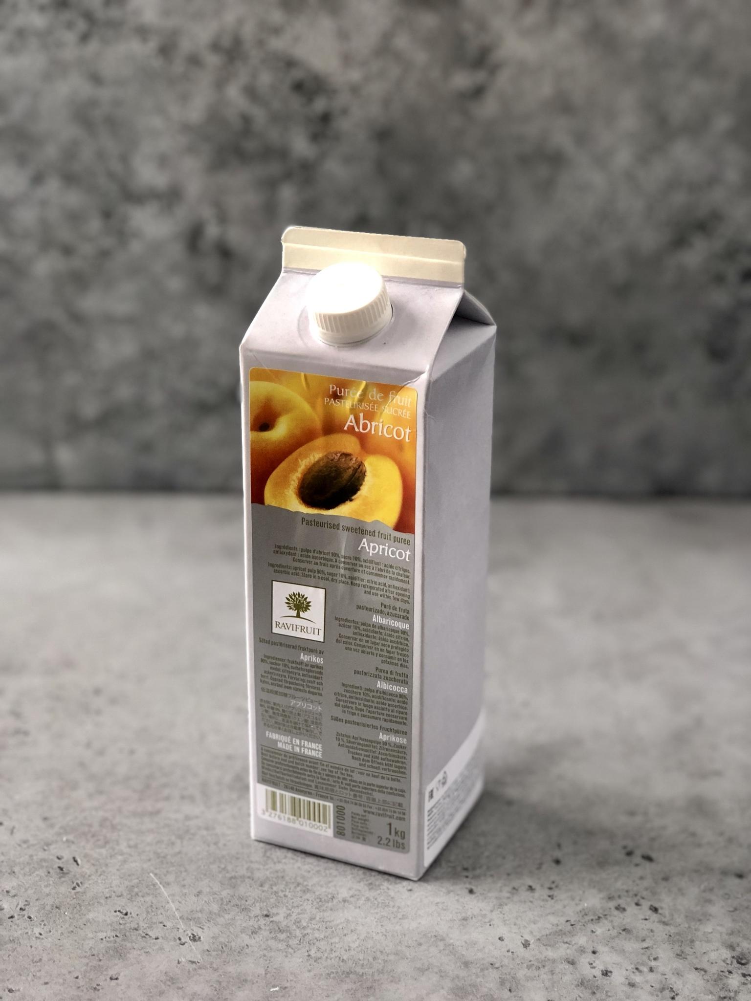 Ravifruit пюре «Абрикос», 1л