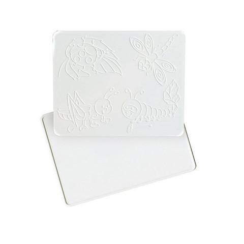 Доска для лепки А5 с рельефным трафаретом