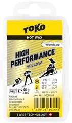 Парафин Toko High Performance 40 g yellow, 10°/-4°